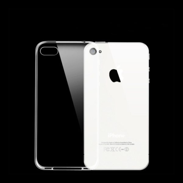 Transparent-Plastic-Back-Cover-Case-For-iPhone-4-4s