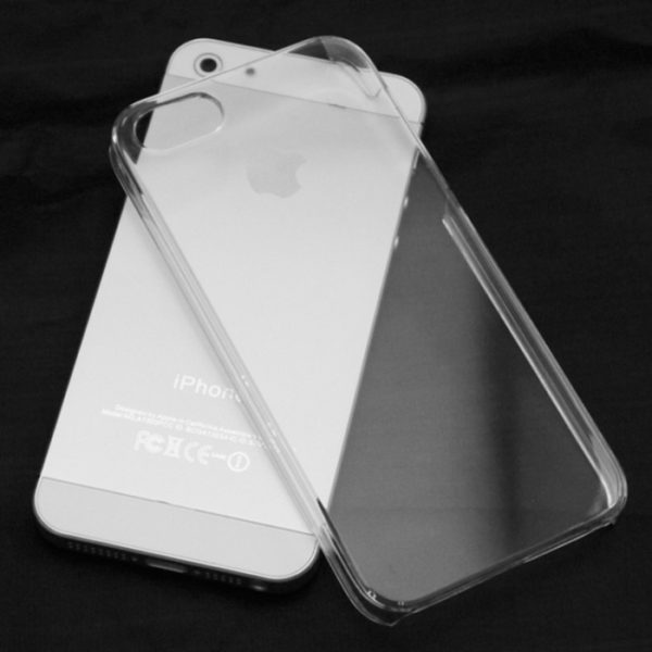 Transparent-Plastic-Back-Cover-Case-For-iPhone-5-2