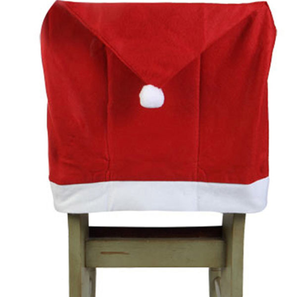 Stupendous Santa Clause Hat Chair Covers Set Of 2 Squirreltailoven Fun Painted Chair Ideas Images Squirreltailovenorg