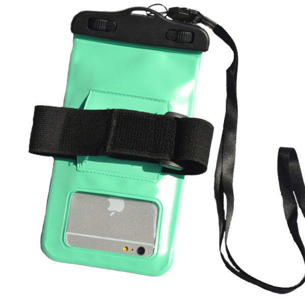 waterproof bag Green_Back