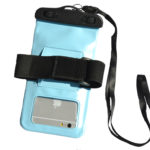 waterproof bag Light blue_black