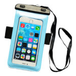 waterproof bag Light blue_front