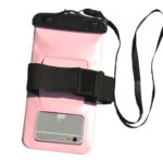 waterproof bag Light pink_back