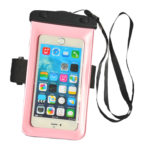 waterproof bag Light pink_front