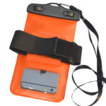 waterproof bag Orange_Back