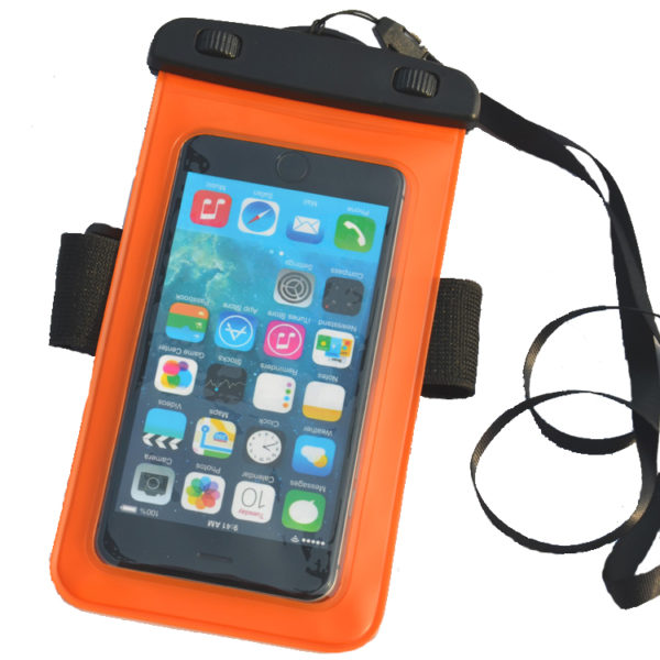 waterproof bag Orange_Front