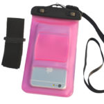 waterproof bag Pink_Back