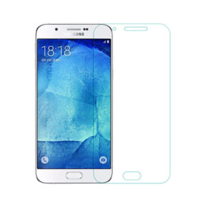 Tempered Glass Screen Protector For Samsung Galaxy A8/ Duos (2015)