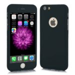 Full Body Cover with Tempered Glass Screen Protector For iPhone 8 Black
