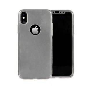 360 Cover with Tempered Glass Screen Protector For iPhone X Clear