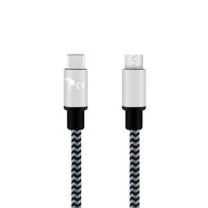 Micro-usb-type-c-to-usb-type-b-braided-1-meter-usb-charging-data-cable-grey-1