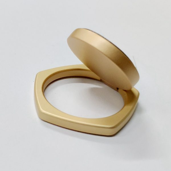 Ring Phone Holder 5 Angle Shape Gold
