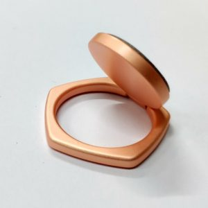 Ring Phone Holder 5 Angle Shape Rose Gold