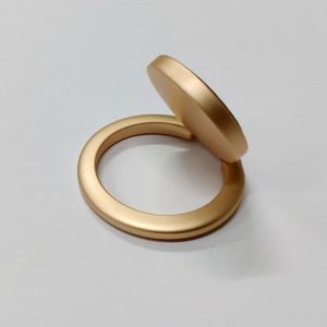Ring Phone Holder Circle Shape Gold