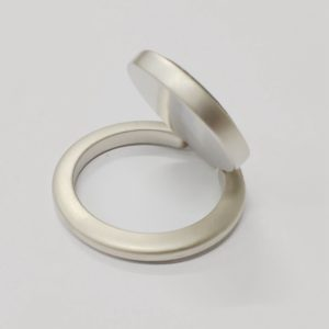 Ring Phone Holder Circle Shape Grey