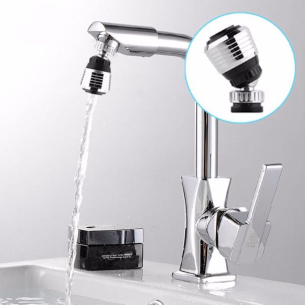 Swivel Kitchen Sink And Shower With Water-Saving Applications (4)