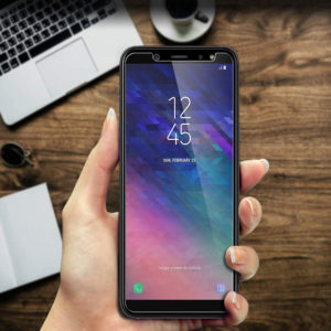 Tempered Glass Screen Protector For Samsung Galaxy A6 (2018)