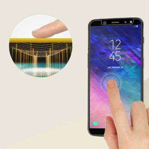 Tempered Glass Screen Protector For Samsung Galaxy A6+ (2018)