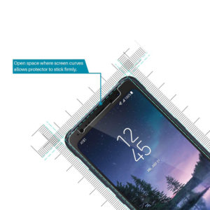 Tempered Glass Screen Protector For Samsung Galaxy S8 ACTIVE